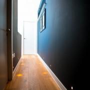 Residential interior photograph demonstrating lighting installation , London
