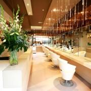 Hair salon interior publicity photograph- Central London