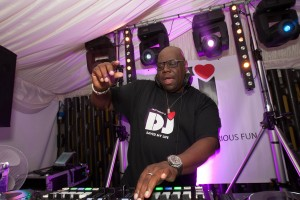 Carl Cox Djs at the House of Commons. Westminster, London in support of LNADJ foundation, helping children affected by conflict