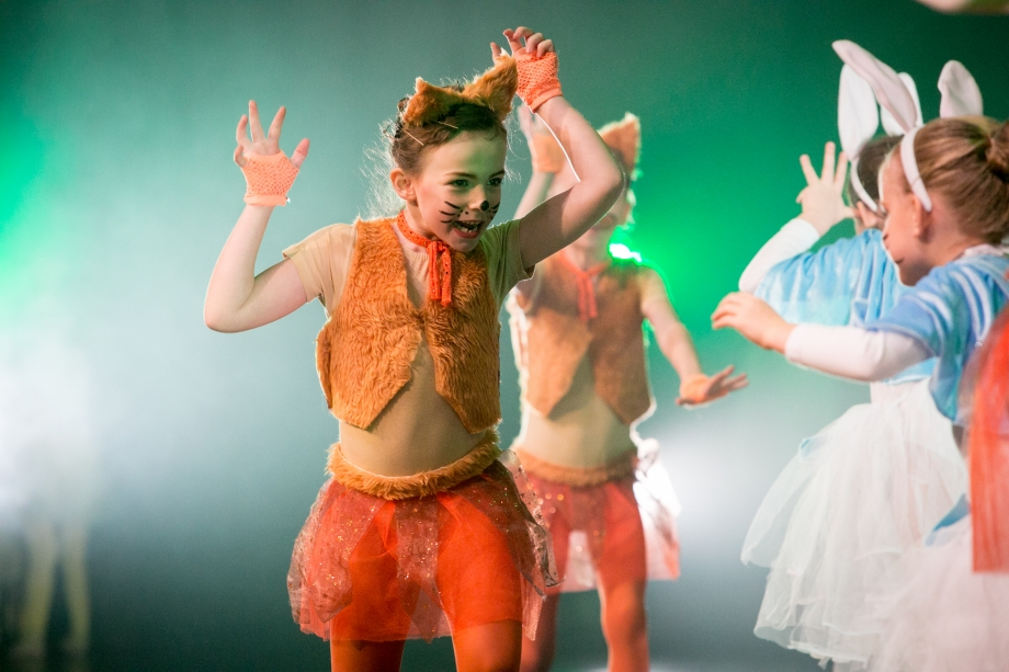 Beatrix Potter ballet performance by Louise Parkes School of Dance, Marlow, Buckinghamshire